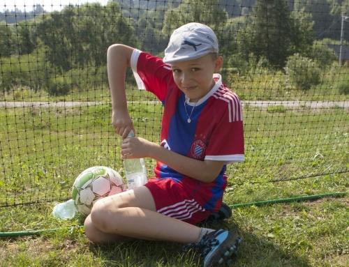 Obóz sportowy – Komańcza – strumień