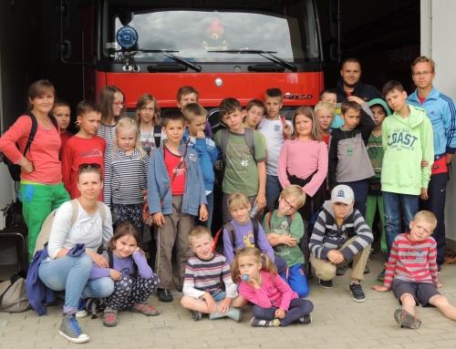 Obóz sportowy – Komańcza – w Straży Pożarnej