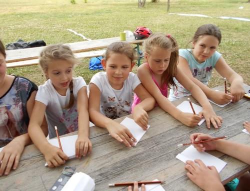 Rzędkowice – obóz odkrywców – spakowani i gotowi